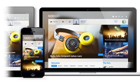 RadioWave   A Versatile Web Radio Template For Joomla