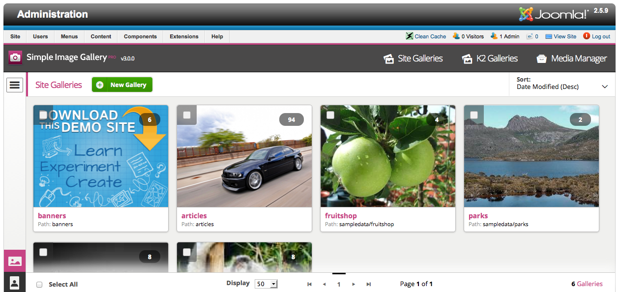 Download joomlaworks simple image gallery pro plugin for k2