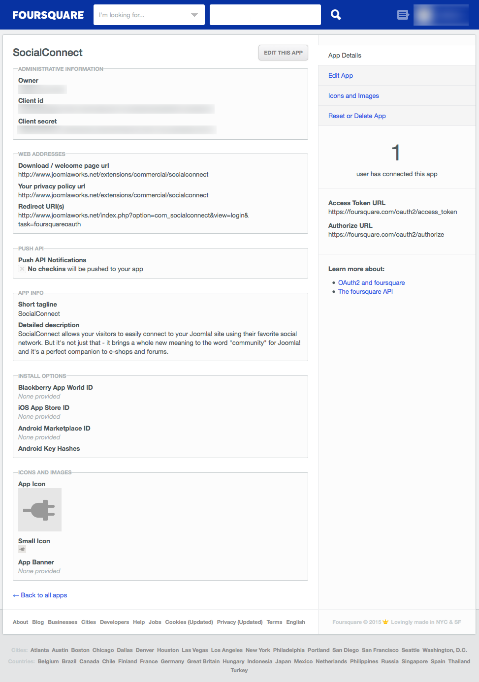SocialConnect - JoomlaWorks