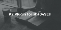 New extension: K2 Plugin for sh404SEF
