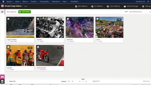 Simple Image Gallery Pro v3.6.1 released