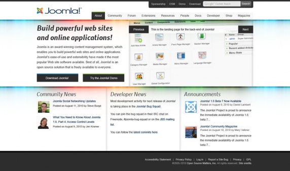 Thoughts on the upcoming redesign of joomla.org