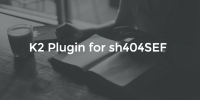K2 Plugin for sh404SEF v1.5.0 released