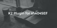 K2 Plugin for sh404SEF v1.5.0 released