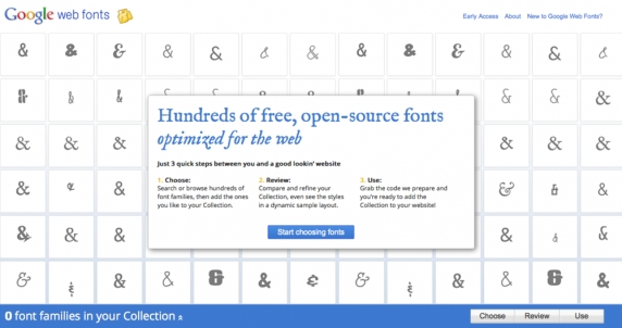 How to create a zip file of all Google Web Fonts on a Mac
